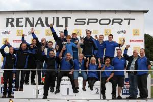James Colburn (GBR) Westbourne Motorsport Renault Clio Cup Brand Hatch GP Win